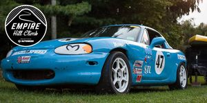 An expected 40 cars, representing grassroots and top manufacturers, will take to the hill at Empire, Michigan, on Sept. 15.