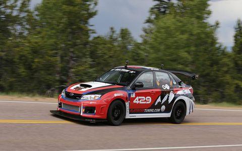 Scott Crouch in 2014 Subaru WRX.