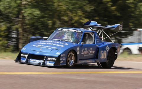 Why don't more street Porsche 914s look like Chris Strauch's 1970 Pikes Peak Open car?