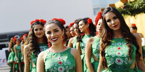 Sights from the F1 Mexican Grand Prix at the Autodromo Hermanos Rodriguez, Mexico City, Mexico, Sunday Oct. 29, 2017.