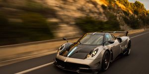 With an estimated 800 hp from an 6.0-liter turbocharged V12 and a curb weight of just 2,685 lbs, the Pagani Huayra BC is an even more intense take on an extreme hypercar.