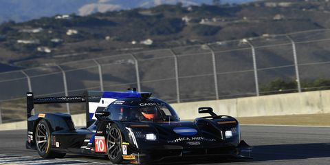 Sights from the IMSA action  at Monterey Saturday, Sept. 23, 2017.