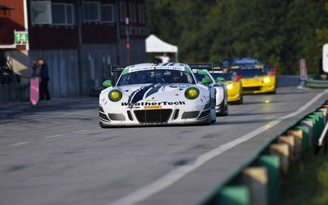 Sights from the IMSA action at Virginia International Raceway, August 26-27, 2017.