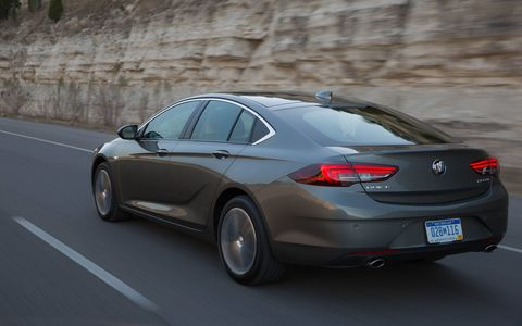 Every 2018 Buick Regal Sportback now receives a 2.0-liter turbocharged four-cylinder with 250 hp. FWD models get 260 lb-ft of torque while AWD models get 295 lb-ft.