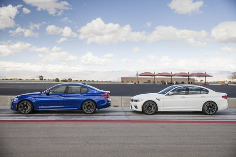 The new M5 arrives in U.S. showrooms in a month, with 591 hp, awd and a comfortable ride.