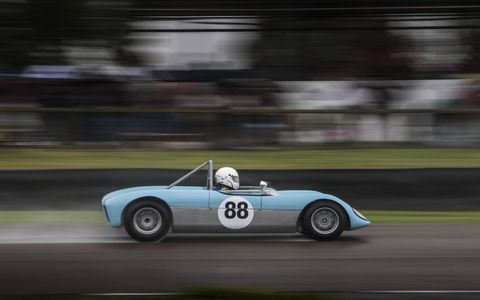 Jump into the Goodwood Revival time machine and take yourself back to the period 1948 to 1966. Everybody comes in proper costume, all the cars are authentic and some of the real drivers from back in the day are there. It is easily the best historic motorsports event in the world.
