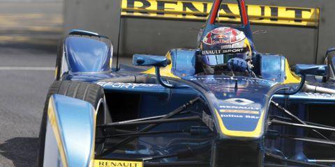 Sebastien Buemi won Saturday's Formula e race in London.