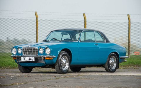This 1978 XJC V12 Coupe rolled across the auction block last weekend, reminding collectors of Jaguar's other V12 models.