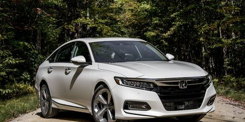 The Accord is all new for 2018 with turbocharged 1.5- and 2.0-liter engines, in addition to a hybrid, to choose from.