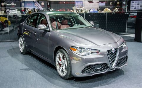 The Giulia lineup came to the New York auto show, with Alfa Romeo dropping a few more details about the upcoming range of sedans.