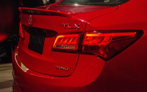 Acura updated the TLX for the 2018 model year, showing off the refreshed sedan in New York alongside a mild performance version dubbed A-Spec.