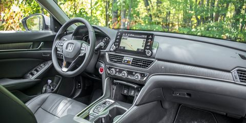 The tenth-generation Accord has a longer wheelbase despite being just a bit shorter on the outside, buying rear seat passengers extra legroom and headroom.