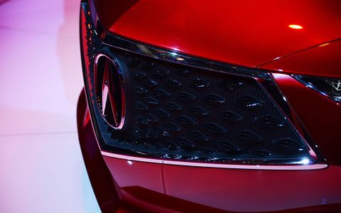 The Acura Precision debuted in Detroit, showcasing the brand's design direction and DNA.