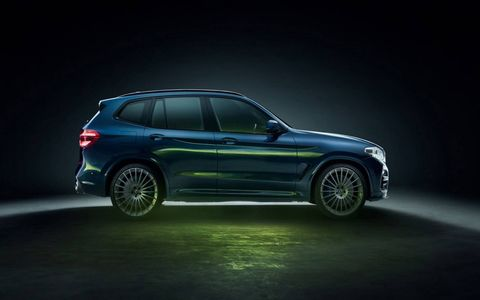 Alpina's latest offering, due to be unveiled in Geneva, is a quad-turbo diesel X3 packing 388 hp and 567 lb-ft of torque.