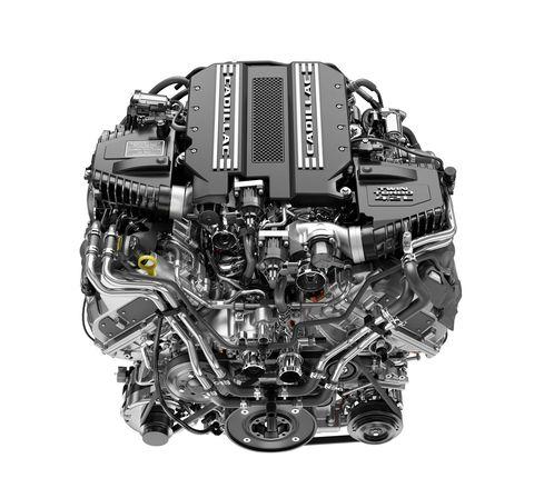 Cadillac CT6 V-Sport V8 powertrain