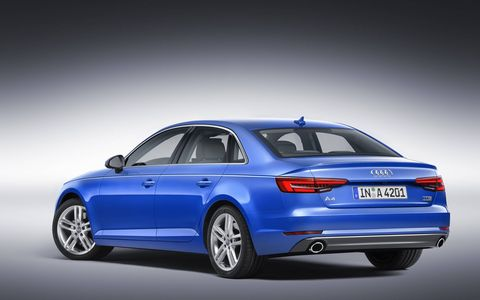 The next Audi A4 luxury sedan is expected to go on sale in the U.S. in mid-2016