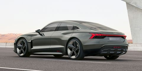 Audi used the LA auto show to unveil the e-tron GT concept, due to enter production in late 2020.