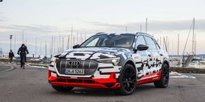 Audi was scheduled to unveil the e-tron crossover on Aug. 30 in Brussels.