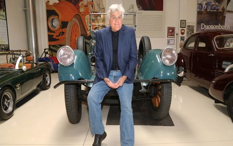 Jay Leno's Pierce-Arrow is nearly 100 years old and running as strong as ever.