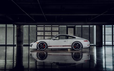 Porsche introduced this special edition at the Rennsport Reunion. It's based on the GTS and only 25 examples will be produced