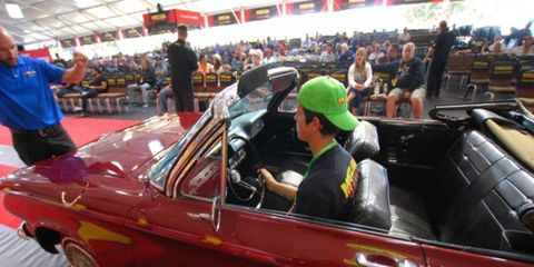 Check out the sights from Wednesday's Mecum Monterey auction.