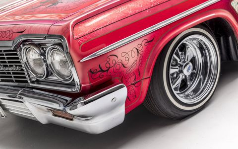 A new exhibit on lowriders has opened at the Petersen Museum in Los Angeles. It features not only cars but art inspired by the lowrider culture, a mix of ethnic and local pride. The exhibit runs until June of 2018.