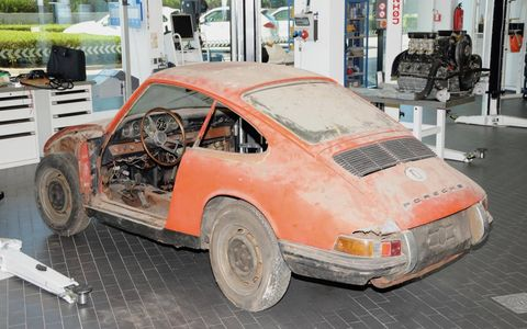 This 1964 Porsche 901 was found in Germany in 2014.
