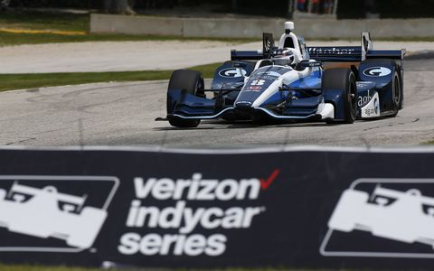 Sites from the IndyCar series practices at Road America, Friday June 23, 2017.