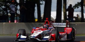 Andretti Autosport moved to Honda in 2014.