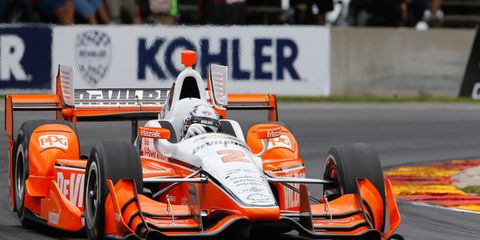 Josef Newgarden is hoping for another strong finish this week at Newton, Iowa.