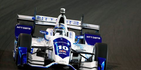 Tony Kanaan finished 18th at Gateway for Chip Ganassi Racing.