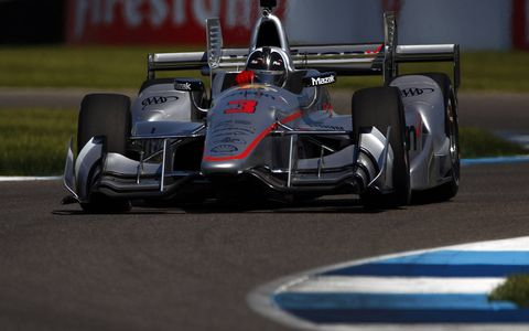Sights from the IndyCar Grand Prix at Indianapolis Motor Speedway, Saturday, May 13, 2017