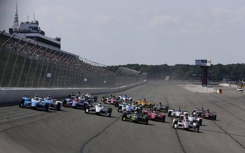 Sights from the ABC Supply 500 Verizon IndyCar Series race at Pocono Raceway, Sunday, August 20, 2017.