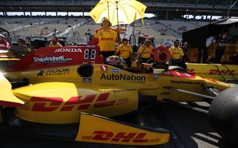 Sights from the IndyCar action at Sonoma, Saturday, Sept. 16, 2017.