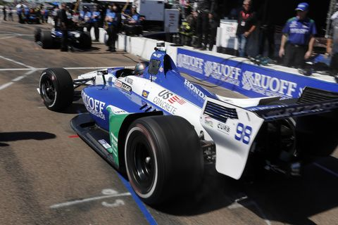 Sights from the IndyCar Series action ahead of the Grand Prix of St. Petersburg Friday, March 9, 2018.