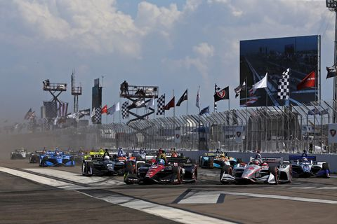 Sights from the IndyCar Series Grand Prix of St. Petersburg Sunday, March 11, 2018.