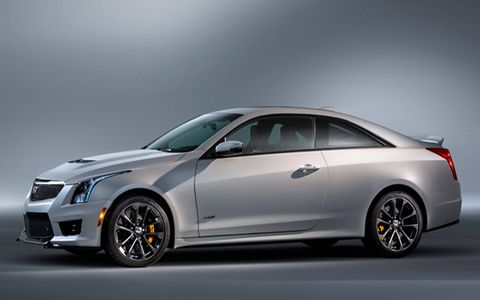 The 2016 Cadillac ATS-V will debut at the Los Angeles Auto Show.