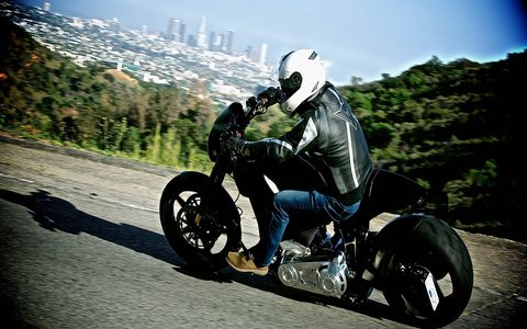The KRGT-1 is the first product of ARCH Motorcycles, a collaborative effort between custom bike maker Gard Hollinger and actor Keanu Reeves. The unique piece of rolling art is also powerful fun to ride.