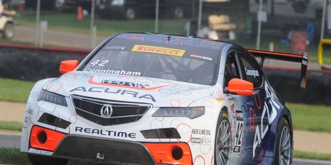 Peter Cunningham and Ryan Eversley will be the primary Acura TLX drivers for RealTime Racing in the Pirelli World Challenge in 2015.