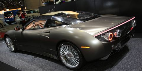 Spyker will return to the New York Auto Show after a four-year absence.