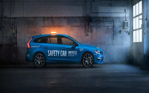 Volvo's Polestar V60 wagon is the World Touring Car Championship's latest safety car.