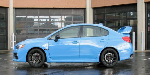 2016 Subaru WRX STI Series.HyperBlue