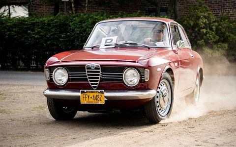 A 1967 Alfa Romeo GTV.