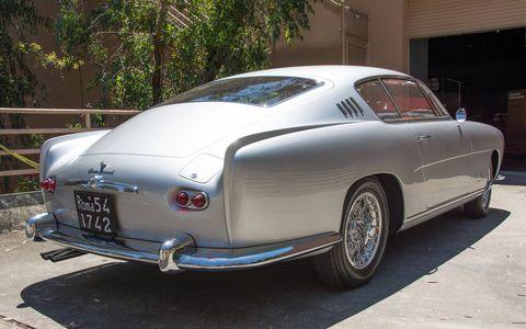 Here is the Alfa Romeo 1900 CSS Ghia Coupe