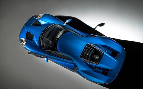 Hopefully rock chips won't make the windshield of your new Ford GT look like the screen of your friends iPhone.