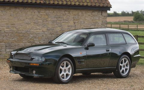 This 1996 Aston Martin V8 Sportsman will be going up for auction in May.