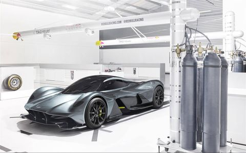 Aston Martin and Red Bull Racing pull the sheet off the AM-RB 001 hypercar.