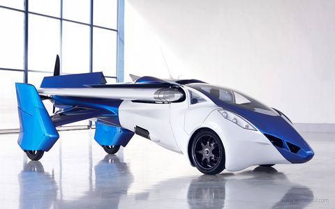 The AeroMobil 3.0 is predominantly built from advanced composite material.