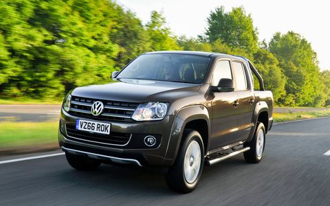 The updated VW Amarok is available in most world markets, but not in the U.S. or Canada.