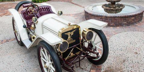 1908 American Underslung 50HP roadster -- $1,738,000.